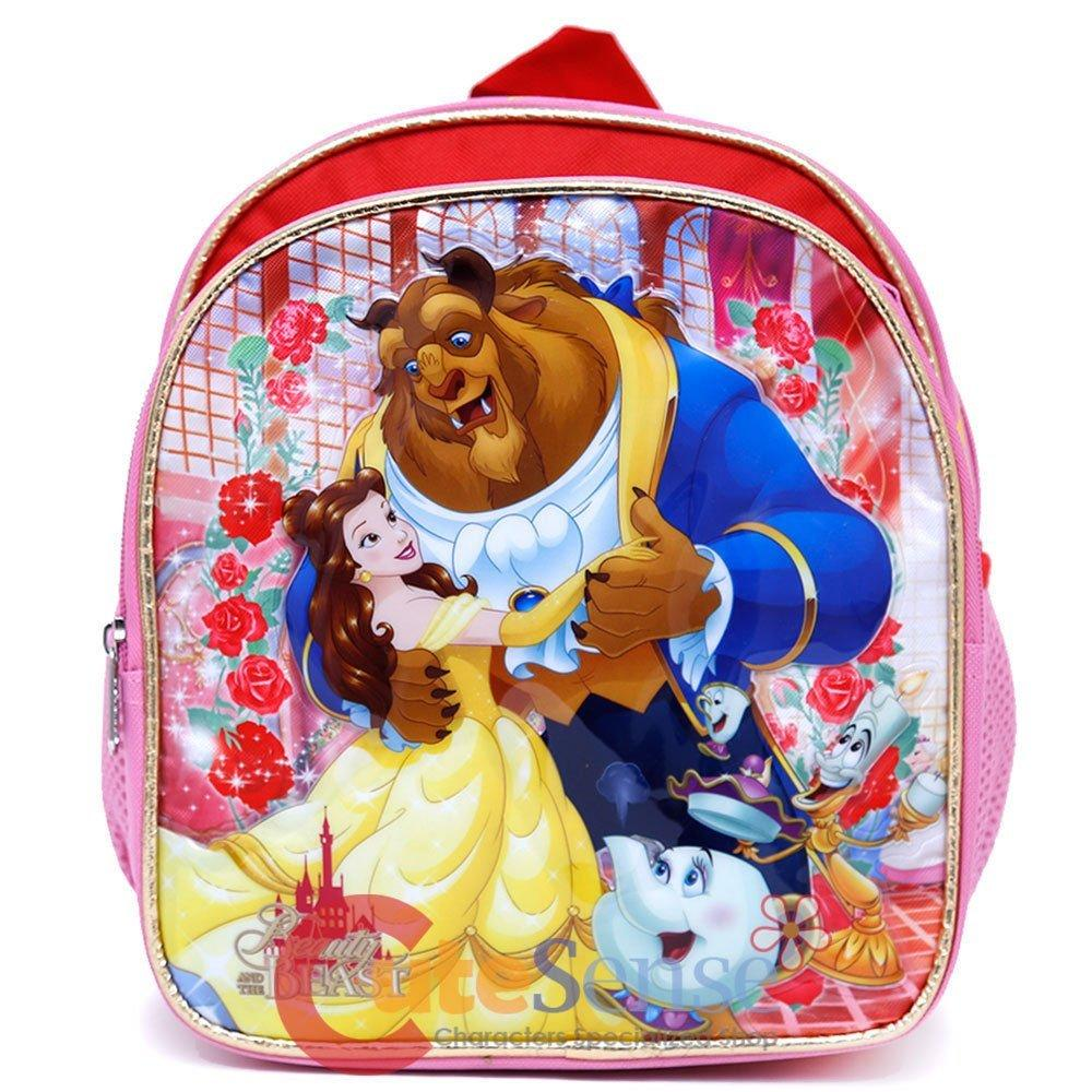 "Mini Backpack - Disney - Beauty and the Beast - Belle 10"" Pink 699369"