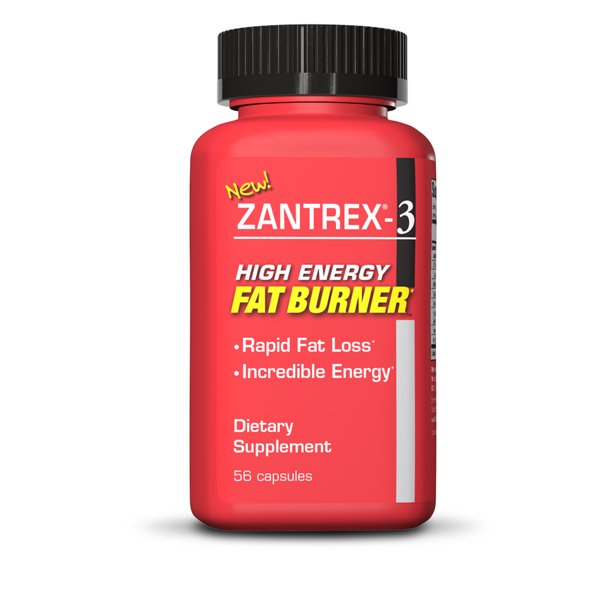Zoeller Zantrex 3 High Energy Weight Loss Supplement with Oxydrene, Dietary Supplements, 56 Capsules