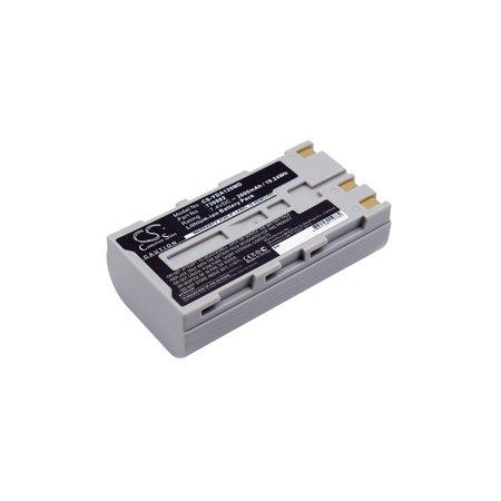Cameron Sino 2600mAh Battery for Yokogawa kargo AQ1200, OTDR AQ1200, OTDR AQ1200B, OTDR AQ1200C, AQ1205E OTDR Multi Field Tester, AQ1205F OTDR Multi Field Tester and others