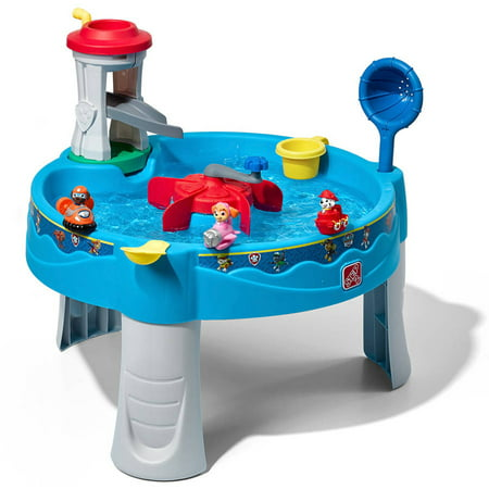 Step2 Paw Patrol Lookout Tower Water Table includes 3 Paw Patrol