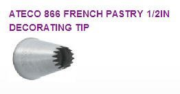 French Pastry Cake / Cupcake Decorating Tip #866