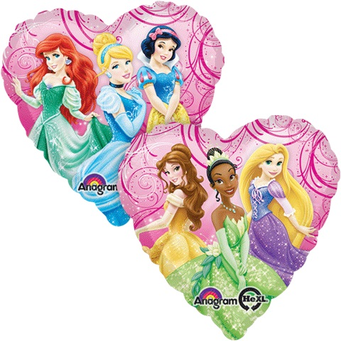 "Disney Princess Fairy-Tale Friends 18"" Foil Balloon"