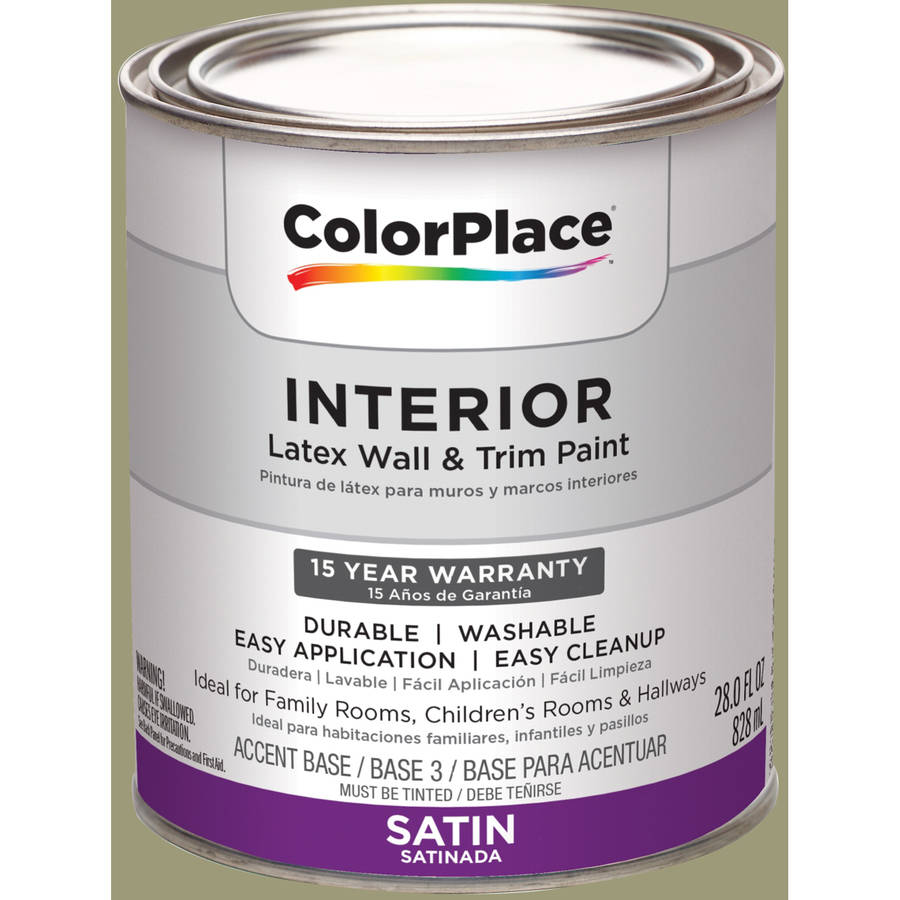 Walmart interior paint interior satin paint best of colorplace interior satin medium base paint Best satin paint