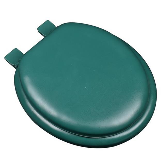 Plumbing Technologies 6F1R2-60 Premium Soft Round Toilet Seat, Forest Green