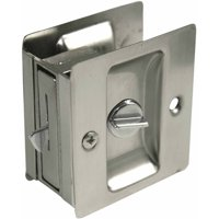 Ultra 49606 Satin Nickel Privacy Pocket Door Lock