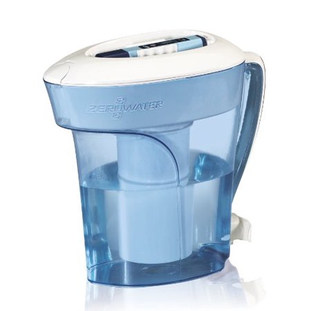 Zerowater Zp 010 10 Cup Pitcher W 5 Stage Dual Ion