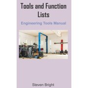 Tools and Function Lists Engineering Tools Manual (Paperback)