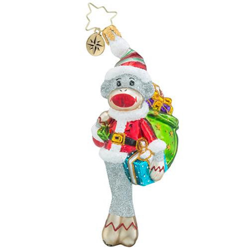 My Favorite Monkey Gem Ornament