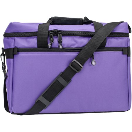 Sewing Bag - Sewing Machine/Project Bag 17 Inch X 13 Inch X 7 Inch-Purple