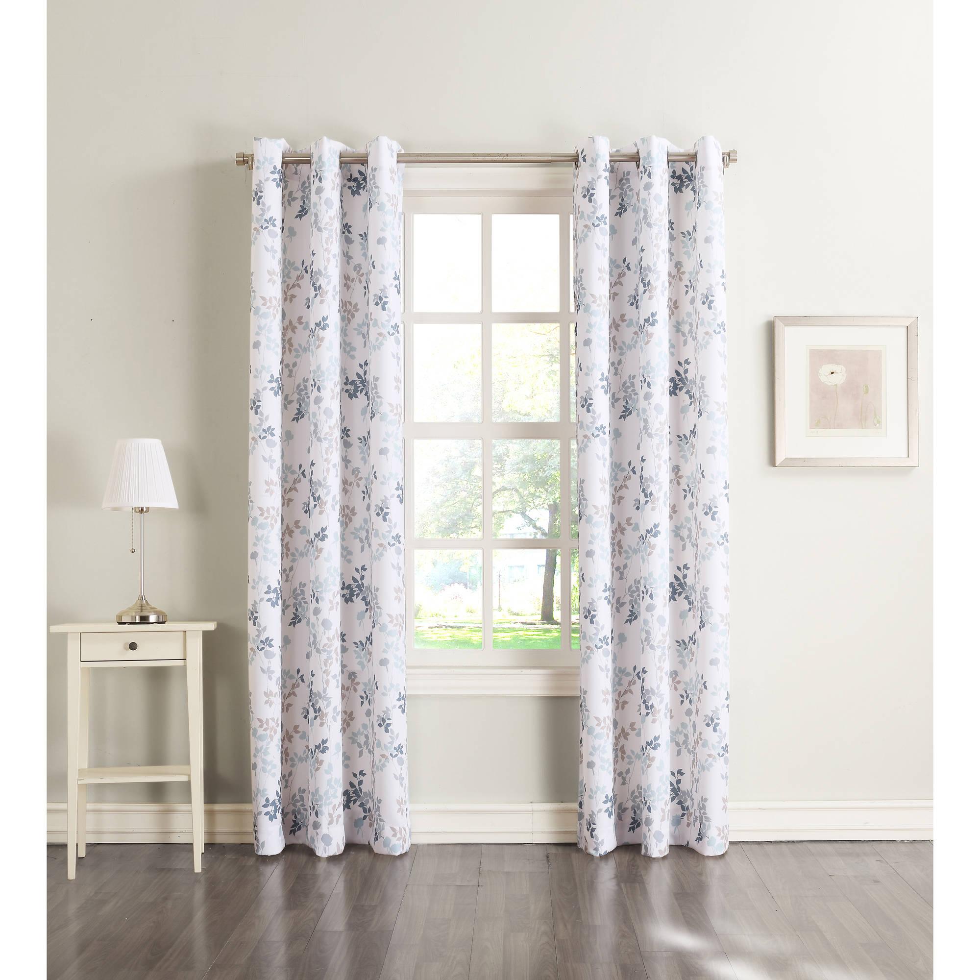 918 Mabel Casual Grommet Curtain Panel   Walmart.com