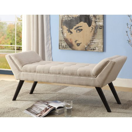 - Baxton Studio Tamblin Beige Linen Fabric Upholstered 50