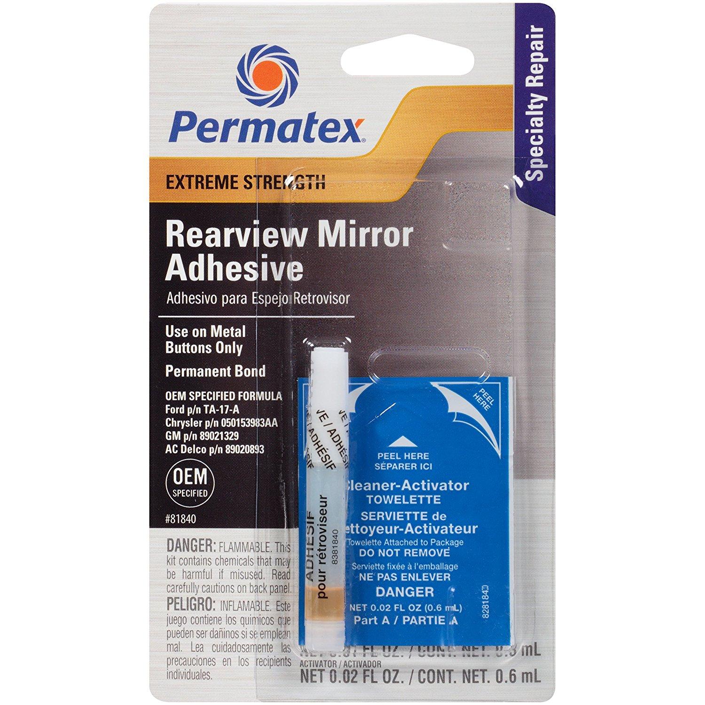 Permatex Extreme Strength Automotive Rearview Mirror Adhesive Kit 81840