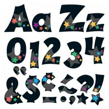 Trend Enterprises T-79840BN 4 in. Upper & Lowercase Ready Letters Combo Set, Stargazer - Pack of 3 Lowercase Ready Letters