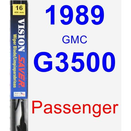 1989 GMC G3500 Passenger Wiper Blade - Vision Saver ()