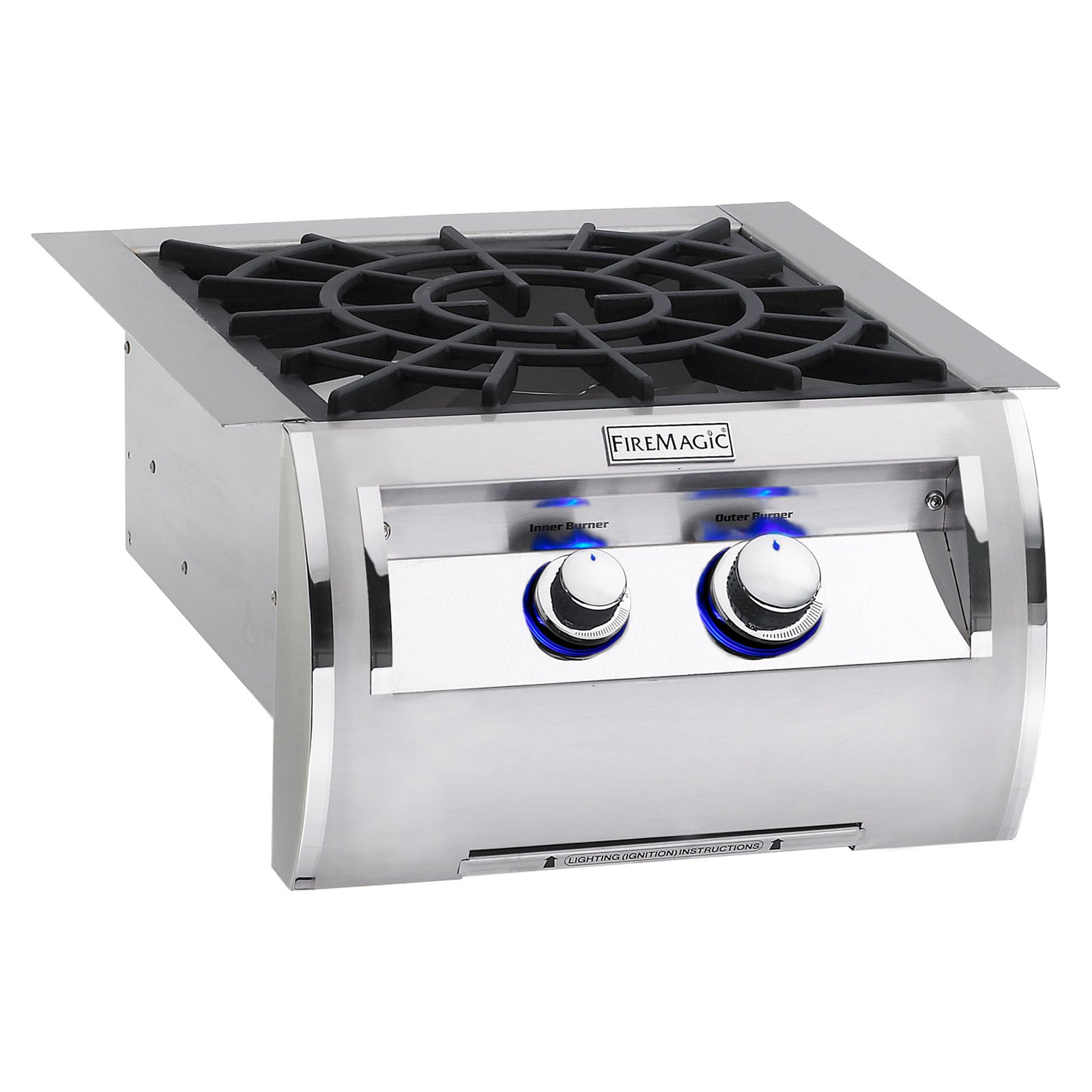 Fire Magic Echelon Diamond 19-4B2N-0 Built-In Power Burner