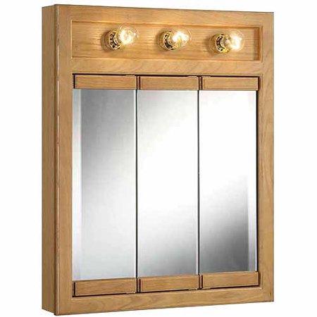 Click here for Design House 530592 Richland Nutmeg Oak Lighted Tr... prices