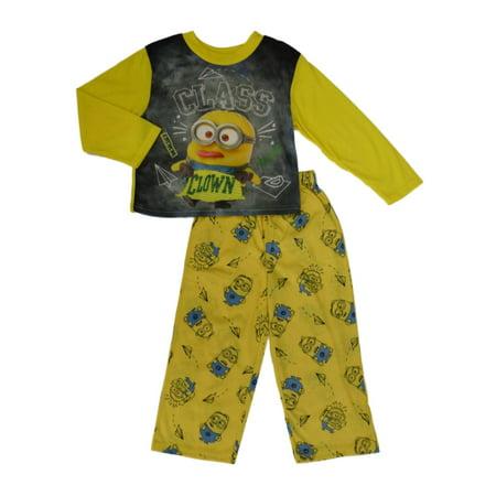 Despicable Me Boys Minion Sleepwear Class Clown Pajama Set - Pj & Me