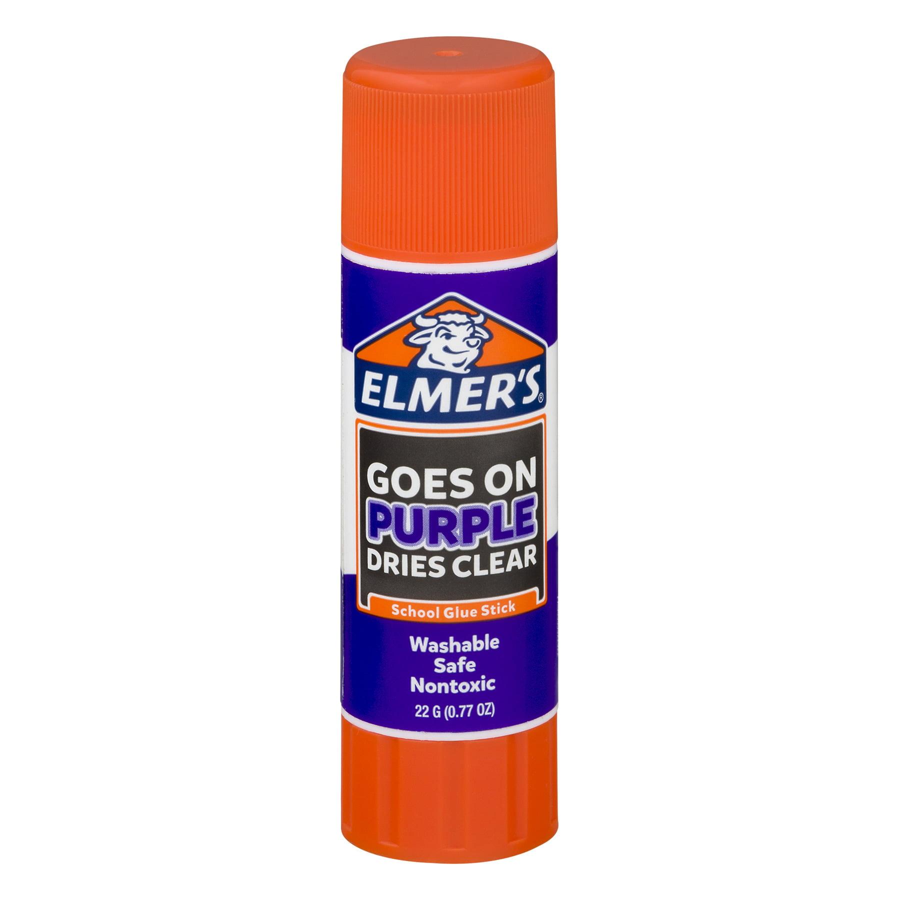 (4 Pack) Elmers Brands 22g School Disappearing Purple Glue Stick