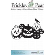 Prickley Pear Cling Stamps 2.25 Inch X 2 Inch-Jack-O-Lanterns