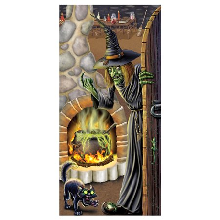 Morris Costumes Party Supplies Halloween Witch's Brew Door Cover, Style (Witch's Brew Door Cover)