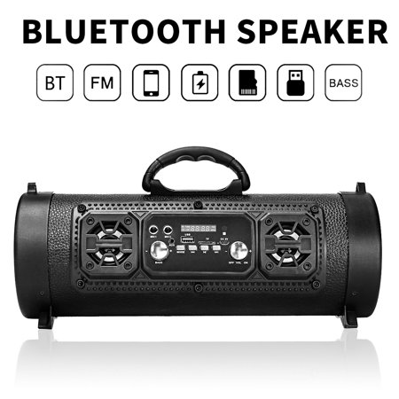 bluetooth SpeakerNote: Remote control is not included.Package Included:1 x bluetooth Speaker1 x USB CableFeatures:Color: Black, Khaki, Camouflage, GraffitiModel: CH-M18bluetooth: V4.2bluetoot - image 1 of 3
