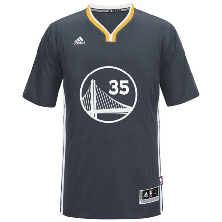 Golden State Warriors NBA Kevin Durant Alternate Swingman Jersey (Charcoal) (Kevin Durant Party Supplies)