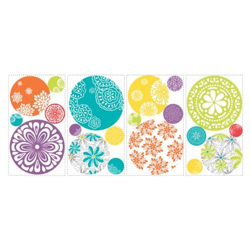 Patterned Dots Peel and Stick Wall Decals