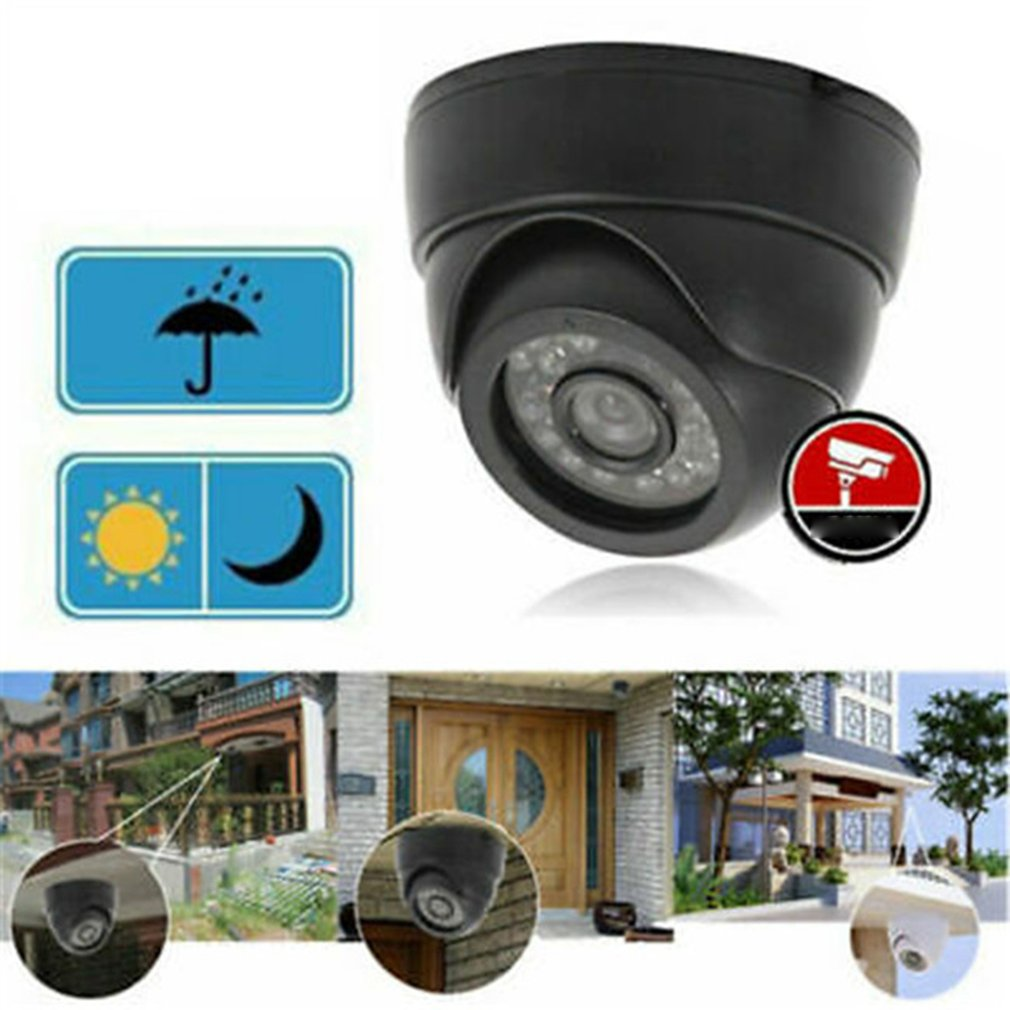 1200TVL CCTV DVR Security Dome Camera IR Night Vision Indoor Outdoor EBAUB W0