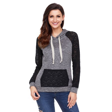 f2bec4bad Clothes for Women on Clearance! Women's Pullover Hoodie for Women, Long  Sleeve Print Striped