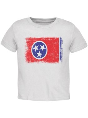 94402874 Product Image Born and Raised Tennessee State Flag Toddler T Shirt. Old  Glory