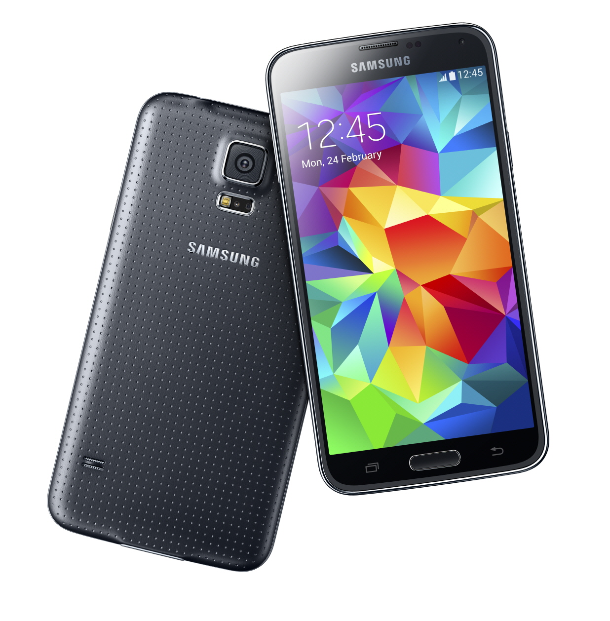 B-Grade Refurbished Samsung Galaxy S5 16GB G900a GSM Unlocked Android Smartphone - Black