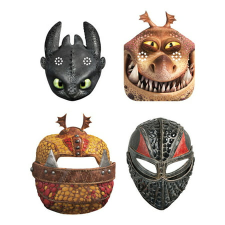 How to Train Your Dragon 3 'Hidden World' Paper Masks (8ct)](Cenobite Mask)