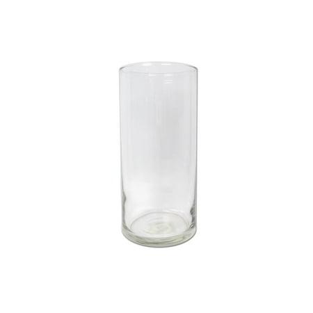 Crisa By Libbey 887 7 1/2 Inch Cylinder Vase, Case of 12 - Cylinder Vases