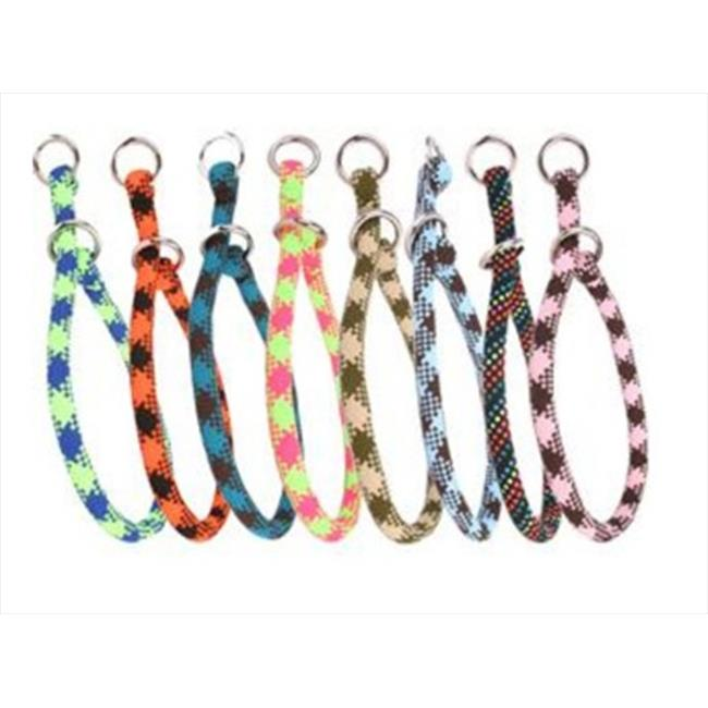 Yellow Dog Design YEL118T 18 inch Multi Color Braided Rope Training Collar