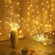 Gobestart 100 LED Solar Outdoor Light String Christmas Crystal Ball Waterproof Copper Wire