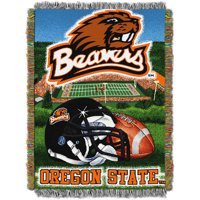 """NCAA 48"""" x 60"""" Tapestry Throw Home Field Advantage Series- Oregon State"""