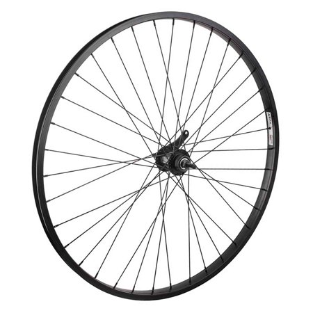 Wheel Masters Rear 700C Alloy Coaster Brake Double Wall WHL 700 622x25 WEI AS7X BK 36 KT CB BK 110mm 14gBK w/TRIM