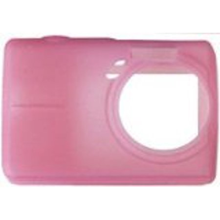 Olympus 202128 Pink Silicon Skin for Olympus FE-190 FE190 Digital Camera