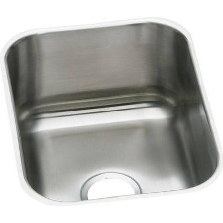 Elkay Dxuh1318 Dayton Stainless Steel Single Bowl Undermount Bar Sink Radiant Satin