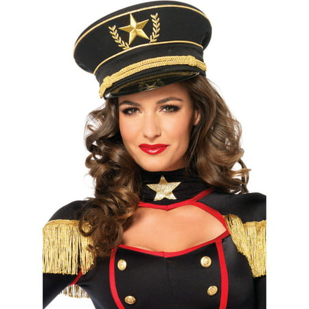 Leg Avenue Military Hat Adult Halloween Costume - Military Costume Hats