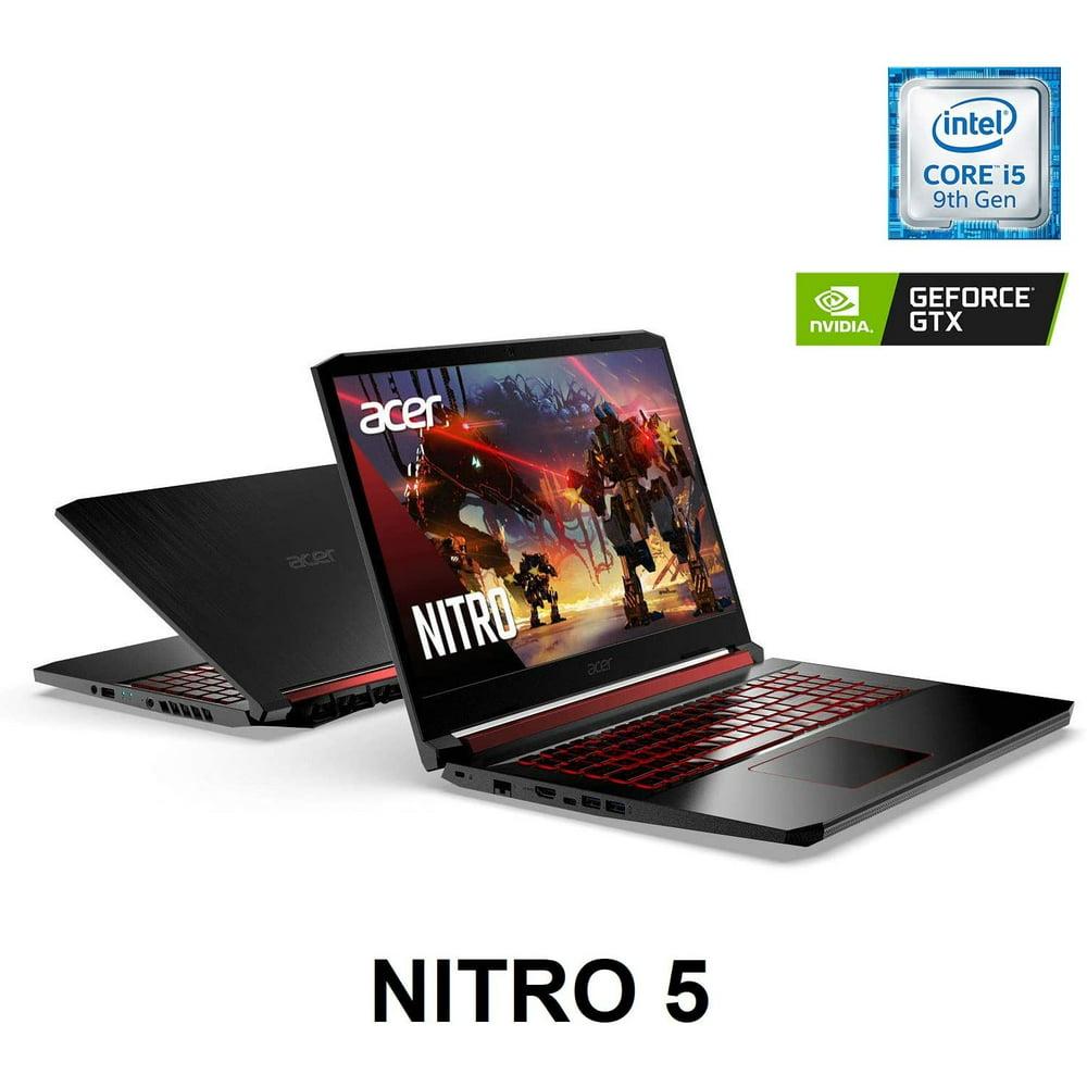 "Acer Nitro 5 Gaming Laptop, 9th Gen Intel Core i5-9300H, NVIDIA GeForce GTX 1650, 15.6"" Full HD IPS Display, 8GB DDR4, 256GB NVMe SSD, WiFi 6, Waves MaxxAudio, Backlit Keyboard"