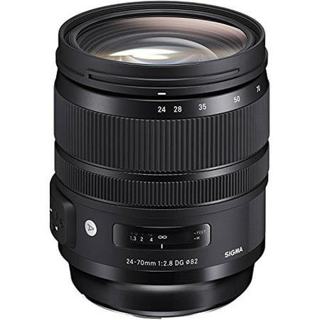 Sigma 24-70mm  F2.8 DG OS HSM For Nikon -Black-