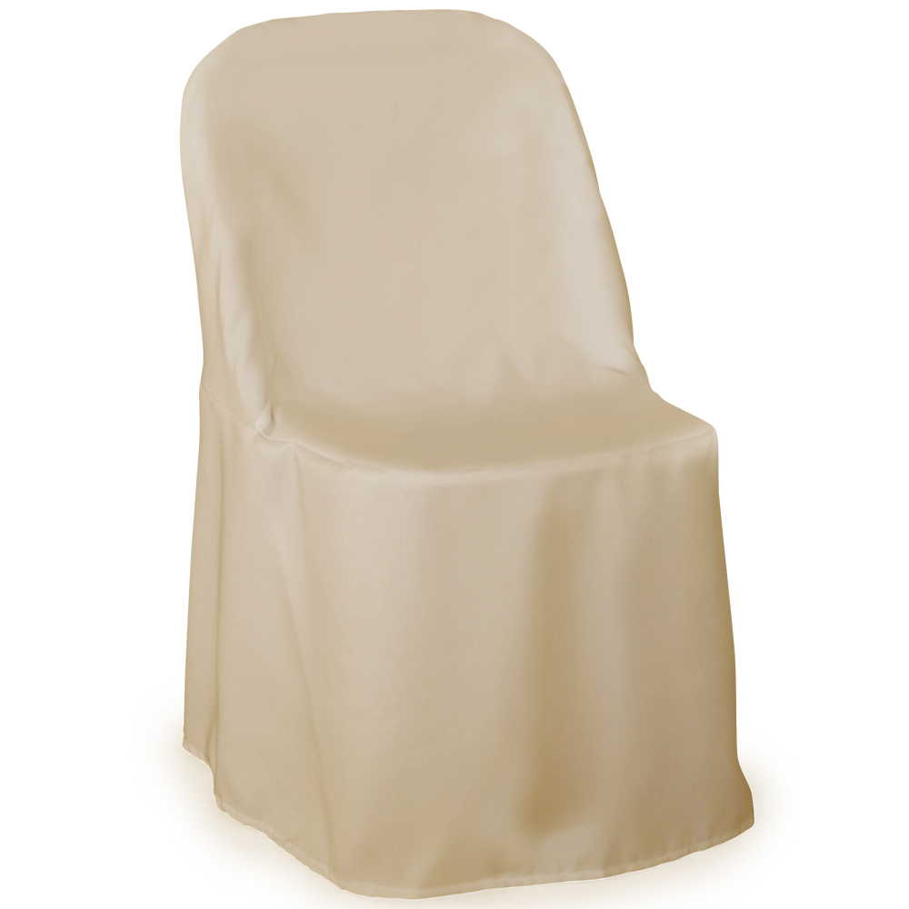 Lann S Linens Premium Polyester Folding Chair Cover For Wedding Or Banquet Use Multiple Colors Available 10 Pcs