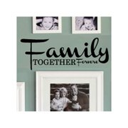 Fox Hill Trading Family Together Forever Vinyl Wall Decal