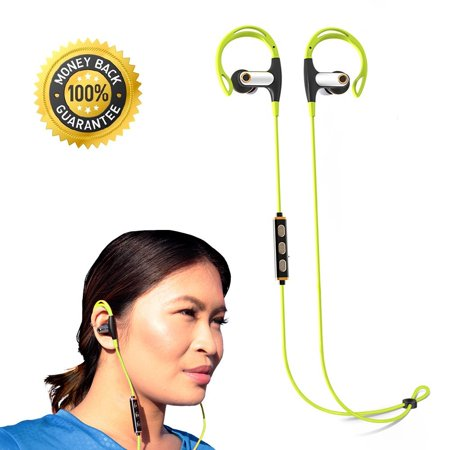 Best Bluetooth Headphones for Better Workouts Running Sports with Sweatproof_ Stereo Bass_ Wireless Built_in Mic_ Noise