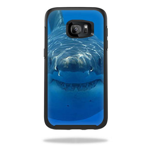 MightySkins Protective Vinyl Skin Decal for OtterBox Symmetry Samsung Galaxy S7 Edge Case wrap cover sticker skins Shark