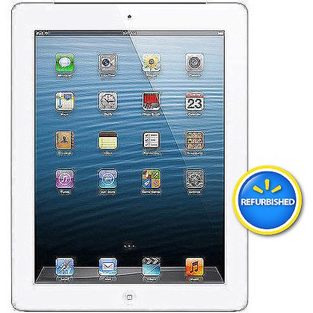 GET Apple iPad with Retina display 64GB Wi-Fi + Verizon Refurbished LIMITED