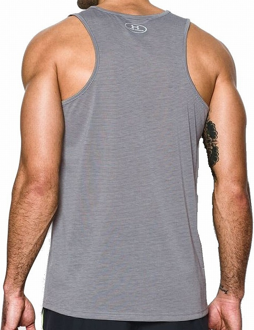 504821c1086207 Under Armour Gray Men Sleeveless Scoop Neck Activewear Tank Top -  Walmart.com