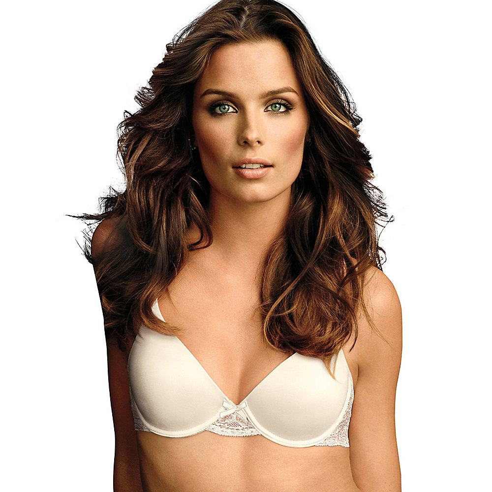 Maidenform Womens Comfort Devotion Embellished Demi Bra