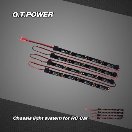 G T Power Chassis Lighting System Blue Led Light Lamp For 1 8 1 10 Rc Car